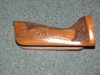 Matthews Bow Grip with Antler inlay and textured grip.
